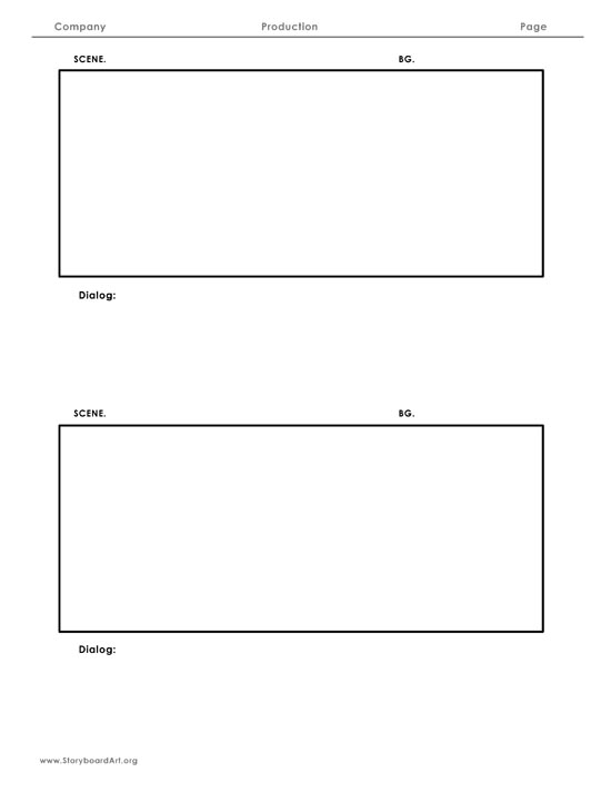 Storyboard Template Pages Images Template Design Free Download