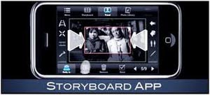 Use your iphone as a storyboard tool on the go!