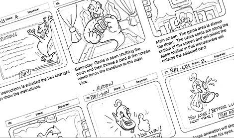 PingMag: Storyboard Design