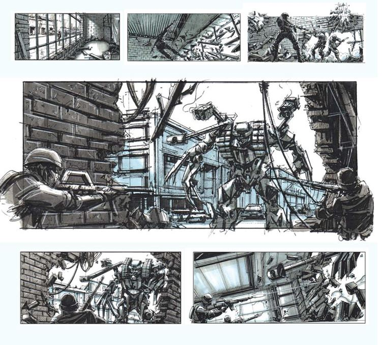 Storyboards from the DGA Archives