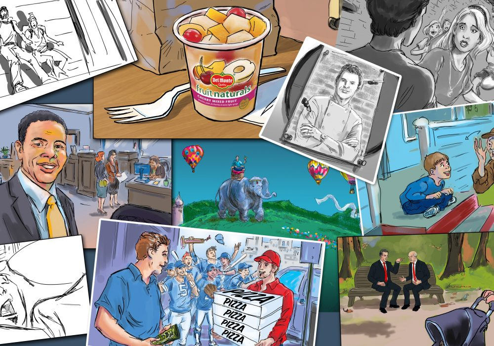 How to make it as a freelance storyboard artist